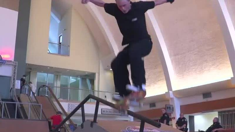 Skateboard Competition at Old MSY terminal