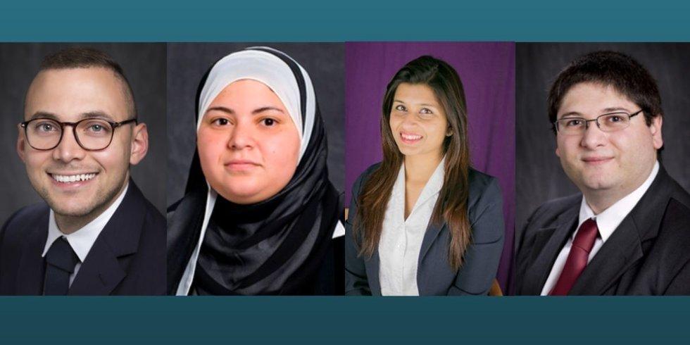 L-R: Dr. Gabriel Arce, Principal Investigator;  Dr. Marwa Hassan Co-principal Investigator;...