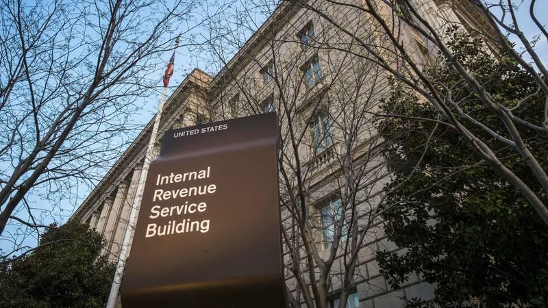 FILE - This April 13, 2014, file photo, shows the Internal Revenue Service headquarters...
