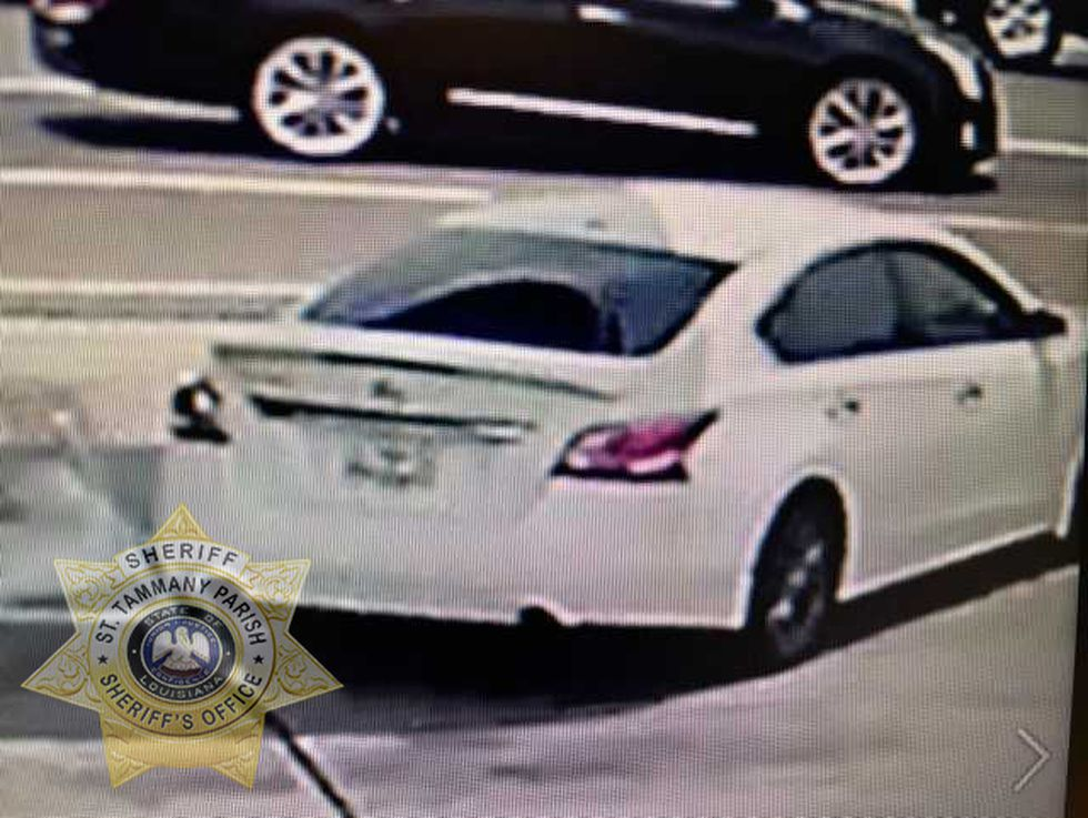 Route reportedly fled the scene in a white Nissan Altima, according to the sheriff's office.