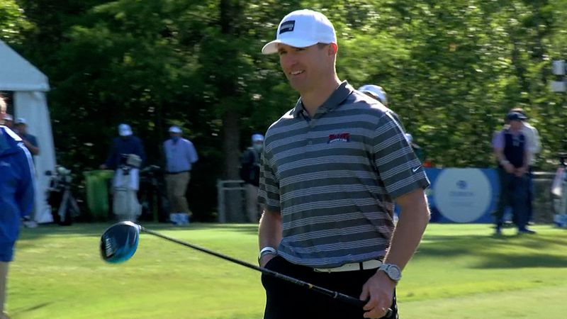 Former Saints quarterback Drew Brees participated in the Zurich Classic Pro-Am on Wednesday,...