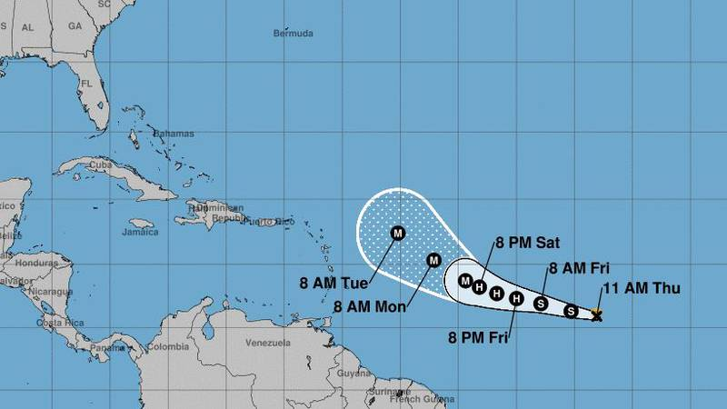 Tropical Storm Sam formed in the Atlantic on Thursday and is expected to become a major...