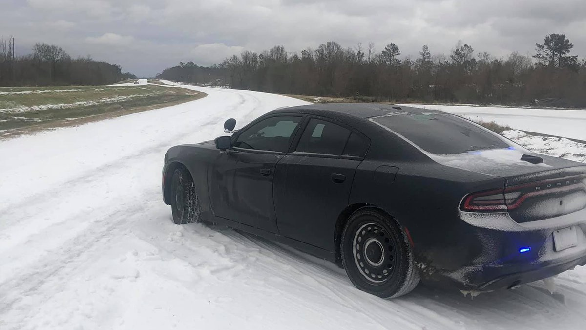 Louisiana State Police are urging residents in most of the state to stay off of roadways due to...