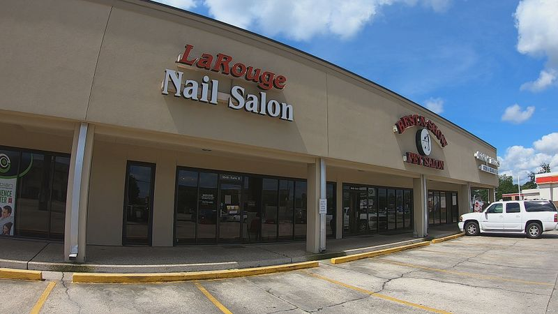 The owner of LaRouge Nail Salon, Oahn Phan, is making preps in anticipation of reopening soon.