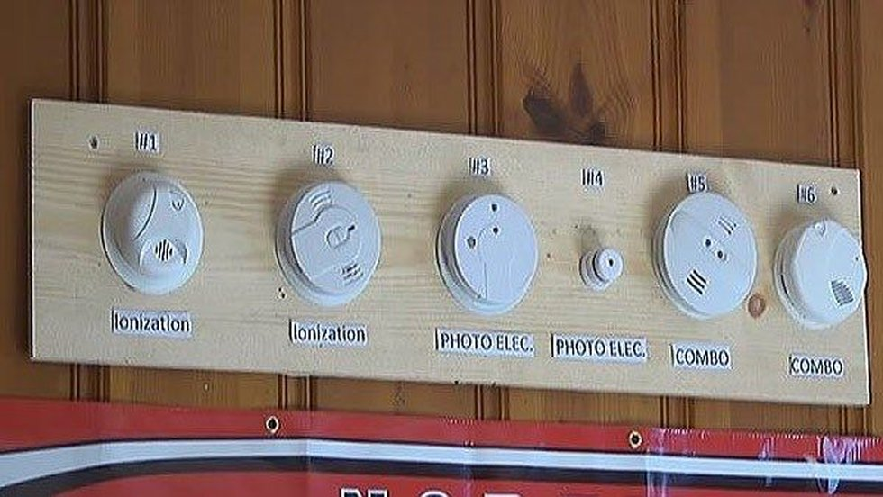90 percent of homes across America have ionization smoke alarms.