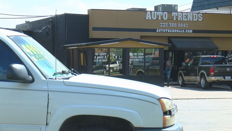 Auto Trends is located in the 11900 block of Florida Boulevard.