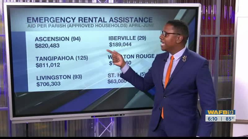 Donovan Jackson breaks down emergency rental assistance funds