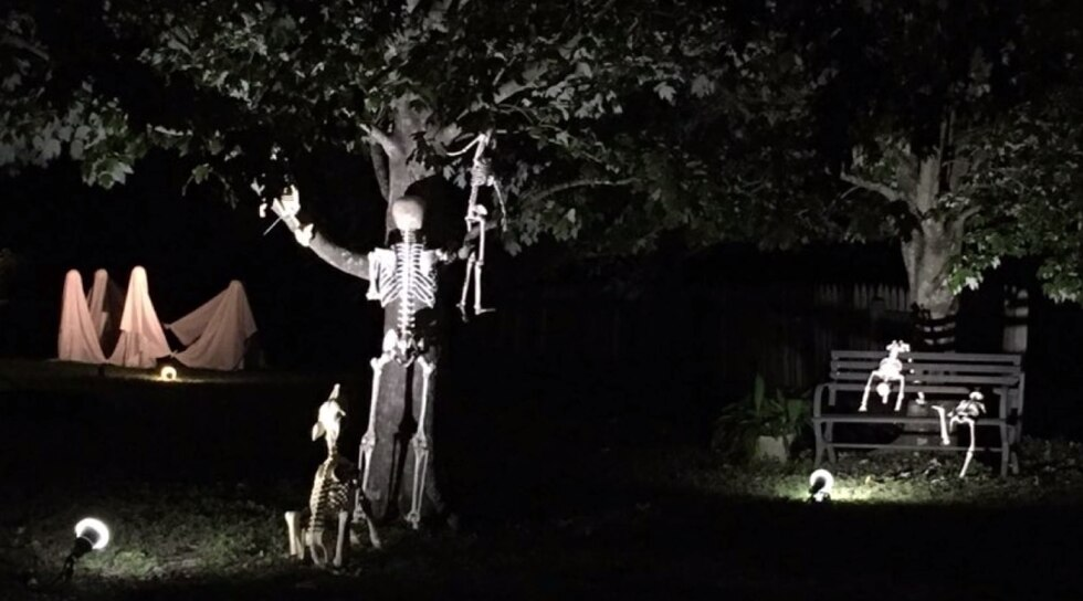 This year, the Rougarou Fest is holding a haunted yard contest.