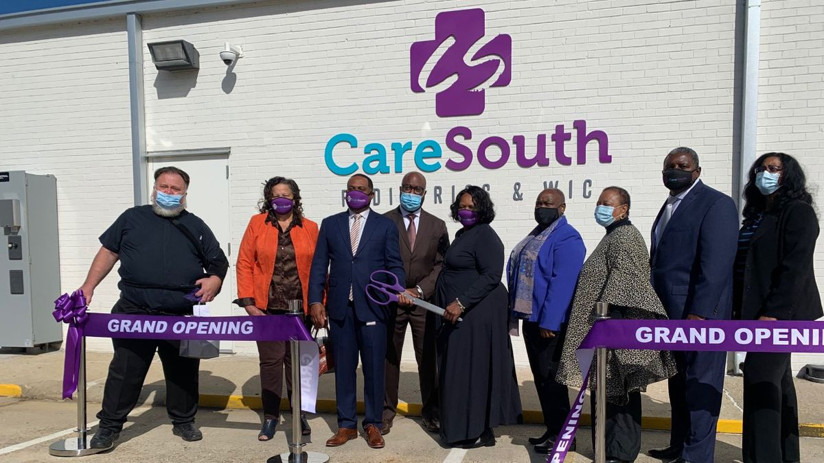 Rose V. Forrest/ CareSouth Pediatrics and WIC Clinic grand opening in Baton Rouge, La. on Nov....