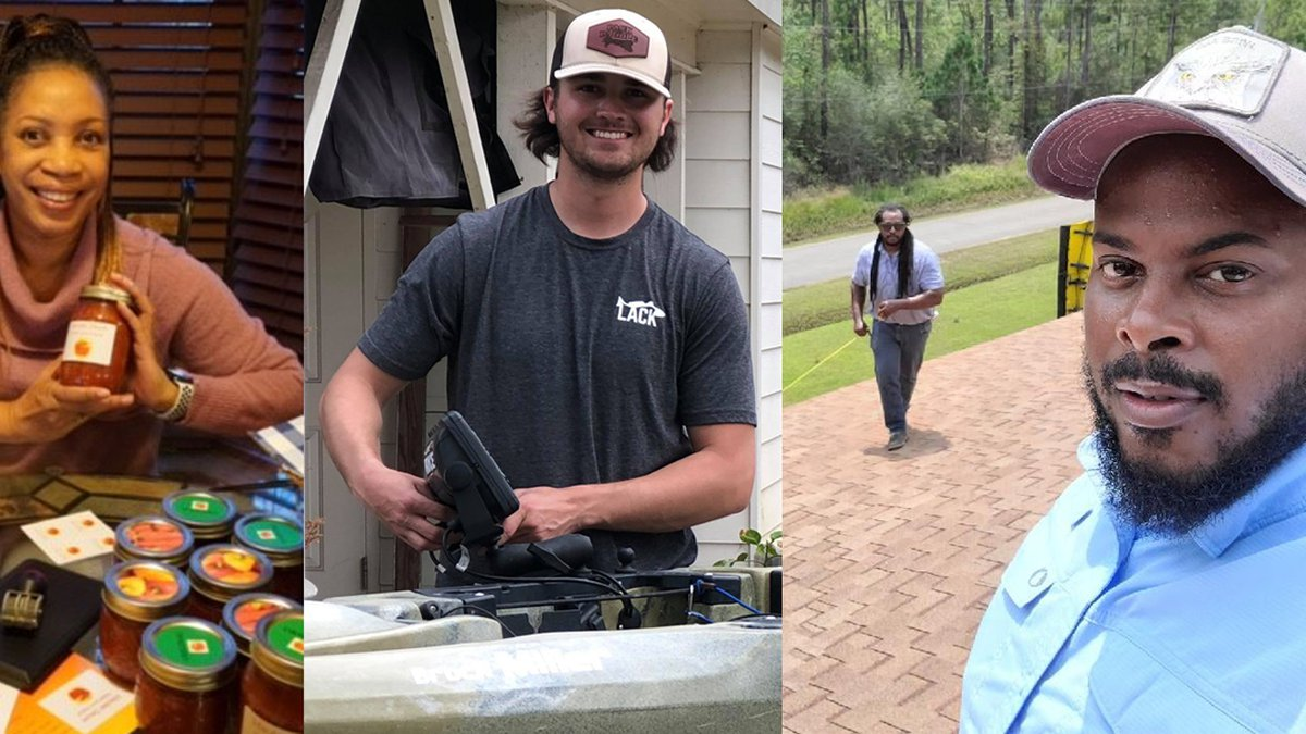 WAFB spoke with the owners of three Baton Rouge area small businesses that launched during the...