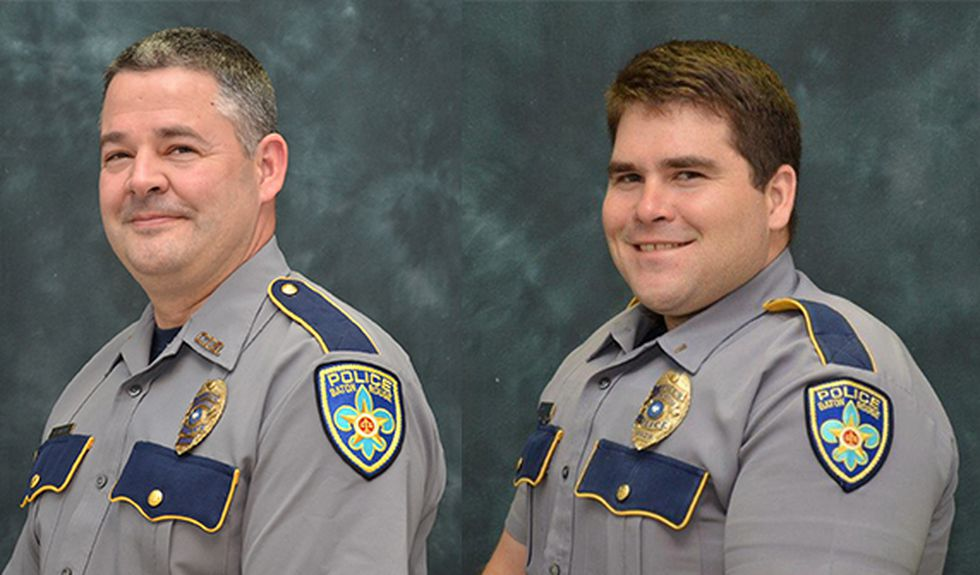 BRPD officers Lt. Glenn Hutto, Jr. and Cpl. Derrick Maglone were shot while questioning a...