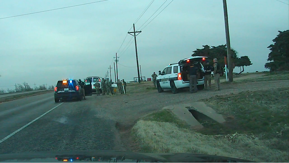 11 National Guardsmen held at gunpoint while transporting COVID-19 vaccines to Matador, Texas...