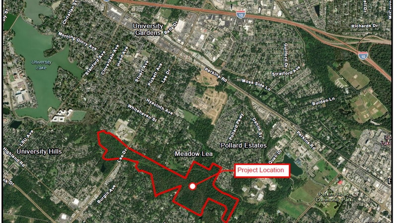East Baton Rouge Parish wants to buy 540 acres of vacant land across the parish and do...