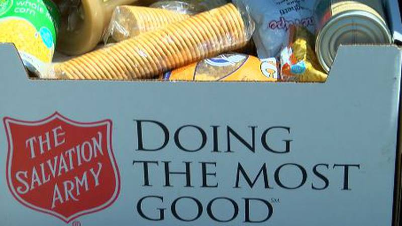 The Great East Texas Food Drive started Thursday, as the Salvation Army of Lufkin teams up with...