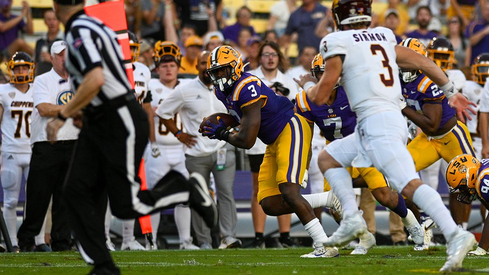 LSU defensive end Andre Anthony (3)