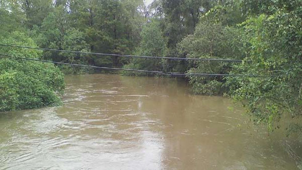 Tangipahoa River in Kentwood