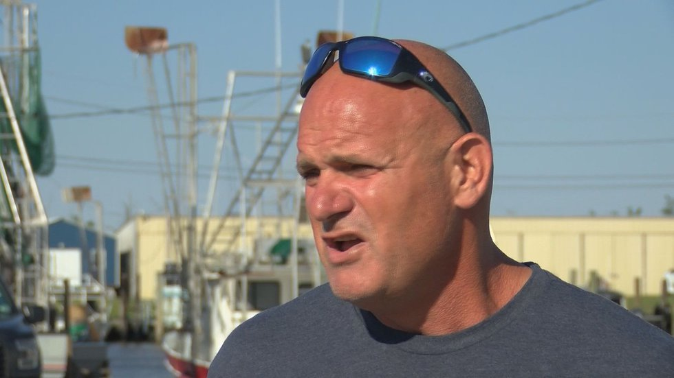 'Swamp People' star Ronnie Adams says when he heard the news of the missing crewmembers on...
