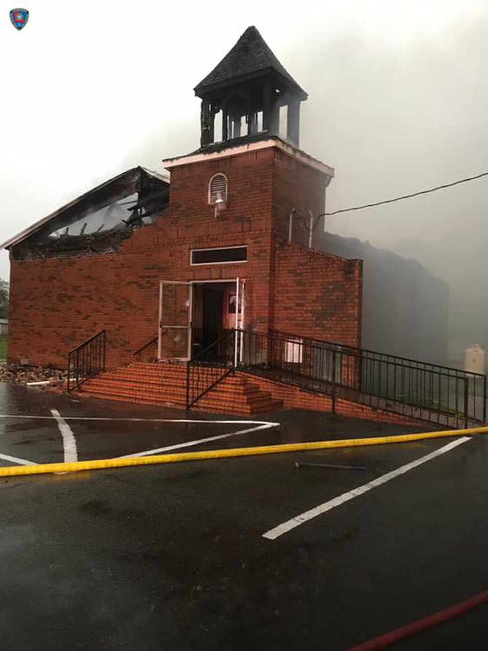 Fire District #3 repsonded to a fire at Mt. Pleasant Baptist Church on Hwy 182 in Opelousas....