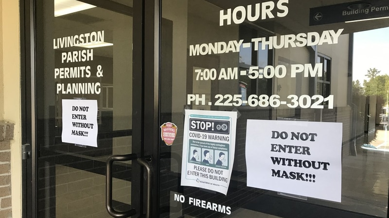 The Livingston Parish Council Office has seen a dramatic uptick in the number of employees who...