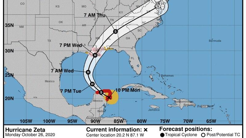 Hurricane Zeta