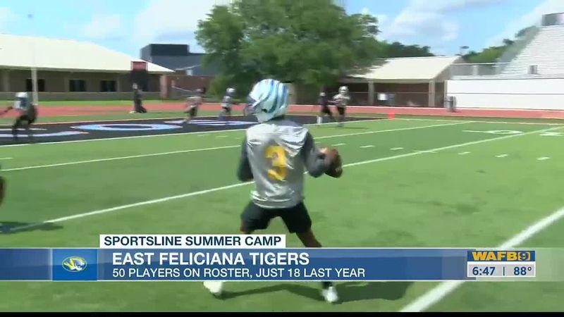 SPORTSLINE SUMMER CAMP: East Feliciana Tigers - Part I