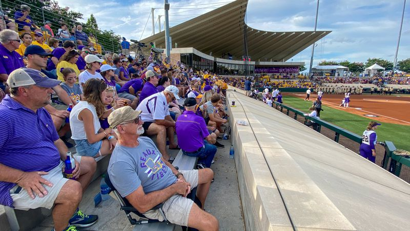 LSU softball vs Florida State in NCAA Super Regional on Friday, May 28, 2021