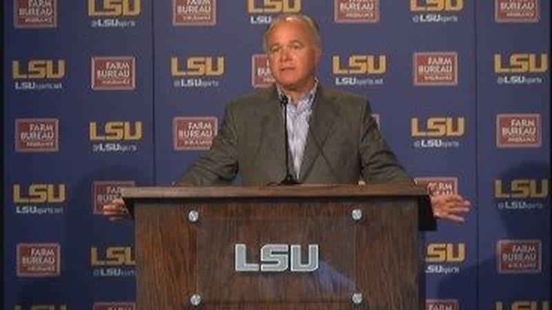 RAW: Head coach Paul Mainieri talks about 2016 season at LSU Media Day