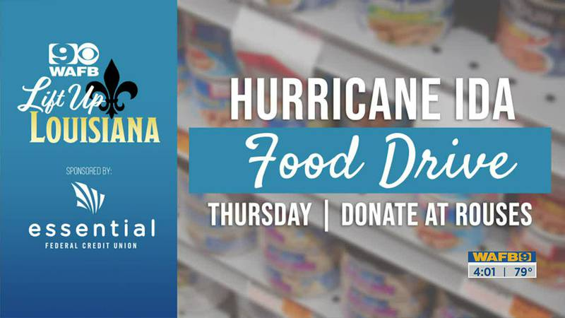 LIFT UP LOUISIANA - WAFB's food drive, drop off donations at area Rouses locations