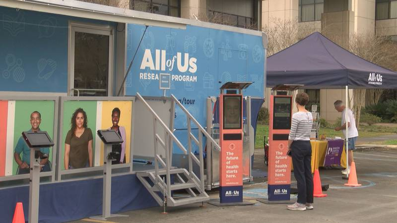 The All of Us Research Program is making several stops in Baton Rouge in order to collect...