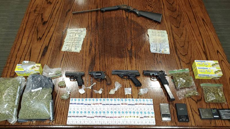 Livingston Parish drug/firearms bust