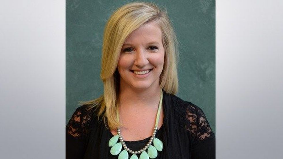 Amber Anderson (Photo source: Christian Life Academy website)