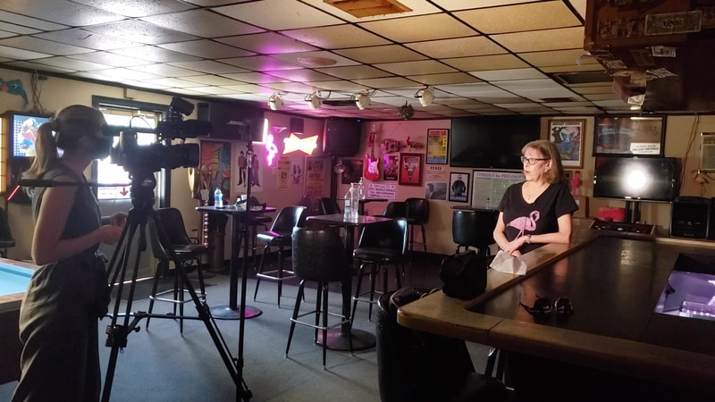 Baton Rouge business owner, Linda White, explains her frustrations about owning a bar during...