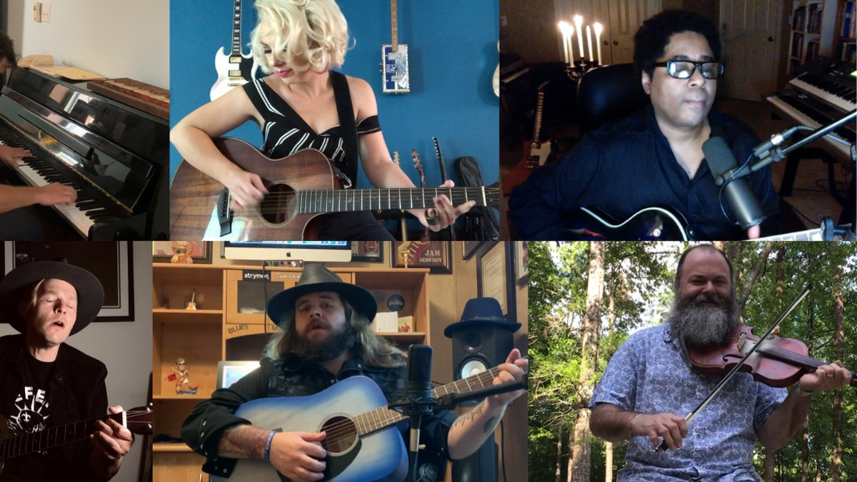 Some of the many Louisiana-based artists who perform from home for you to lift spirits during...