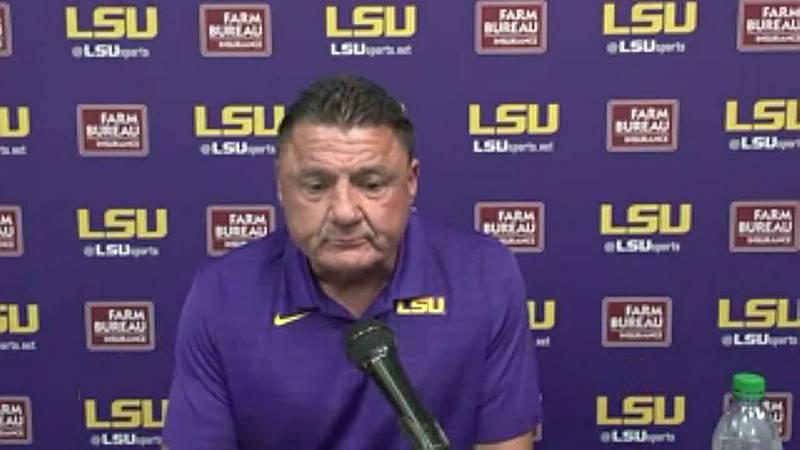 LSU Head Coach