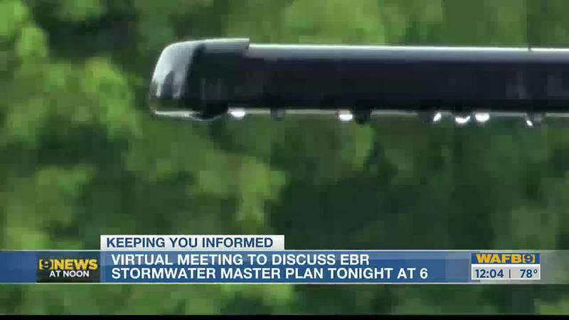 EBR Stormwater master plan virtual meeting