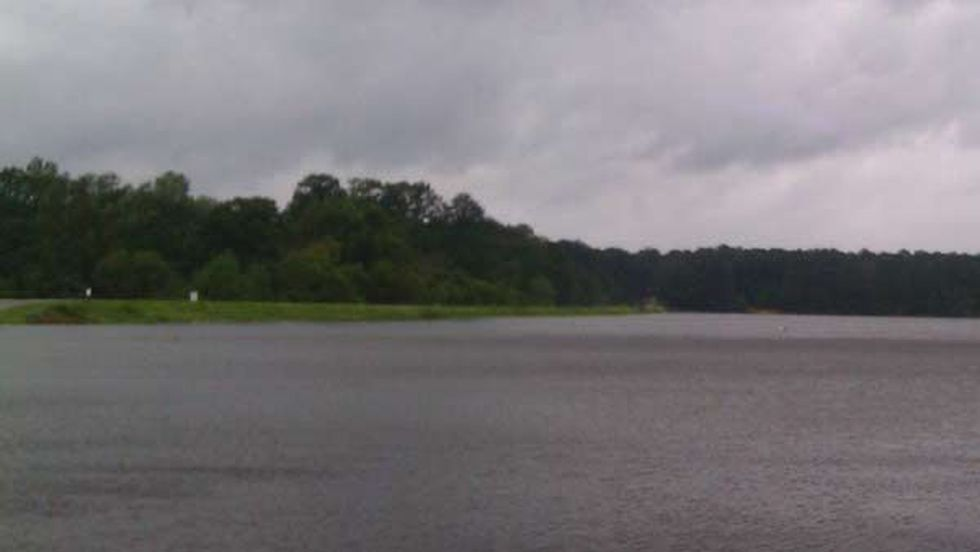 Southern Mississippi was pounded with heavy rains from Isaac.