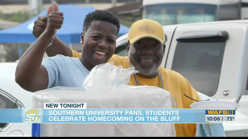 Fans, students celebrate Southern University's homecoming on The Bluff