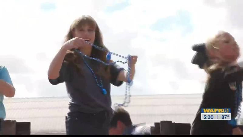 Folks gathered Friday in St. Francisville to cheer on space traveler and cancer survivor Hayley...