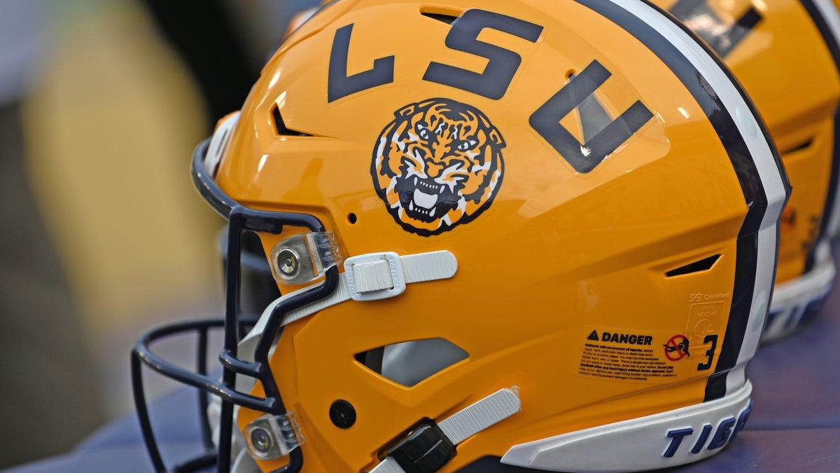 LSU Football Generic Helmet Photo