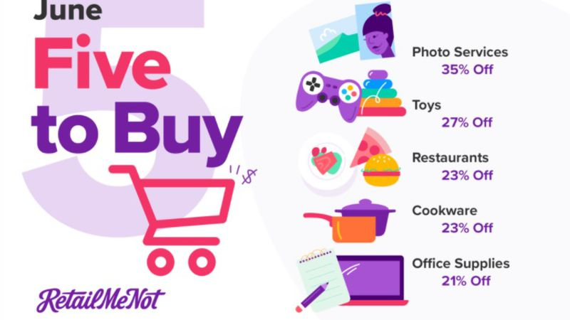 Sara Skirboll shares the five best tings to buy in June. (Source: RetailMeNot.com)