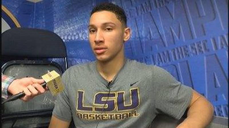 RAW: Ben Simmons talks after LSU's last game of 2015-2016 basketball season
