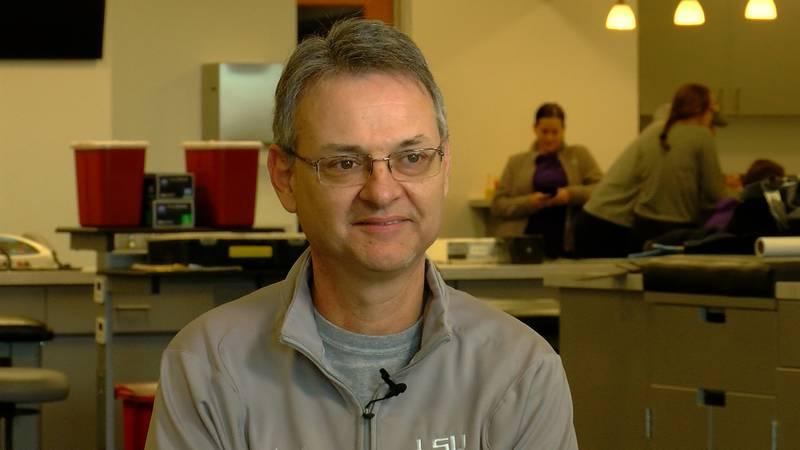 Jack Marucci, LSU's director of Performance Innovation