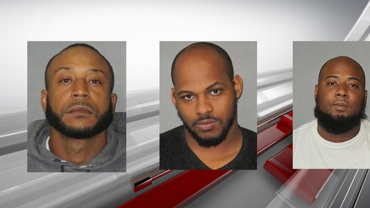 Antonie Robinson (left) was charged with principal to first-degree murder.  Devin Holland...