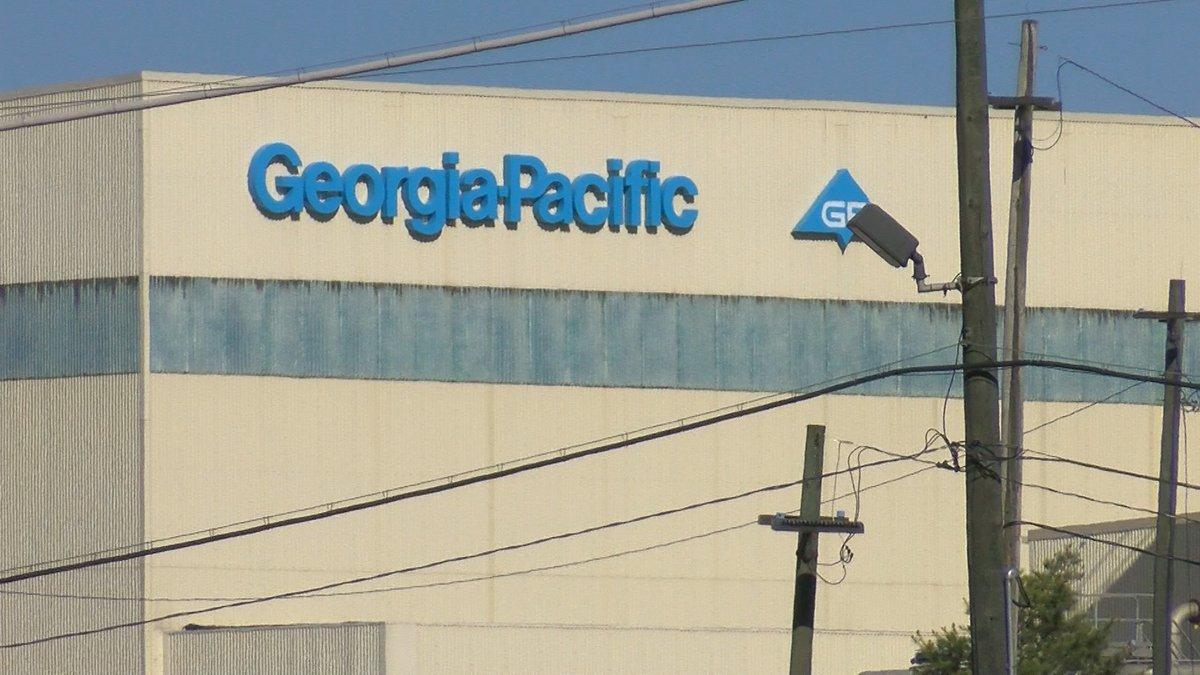 Georgia-Pacific plant in Port Hudson, LA