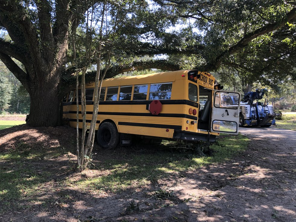 BRPD chased after juvenile driving stolen school bus