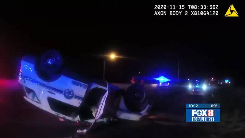 FOX 8 received new video from the New Orleans Police Department from the scene of an alleged...