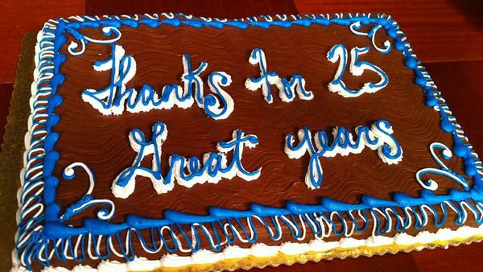 Thank you George for 25 great years!