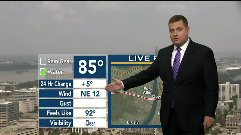 9News at Noon weather; August 4, 2021