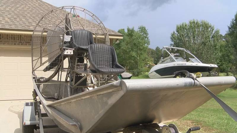 The Cajun Navy 2016 are second responders and will only take their boats to places where they...