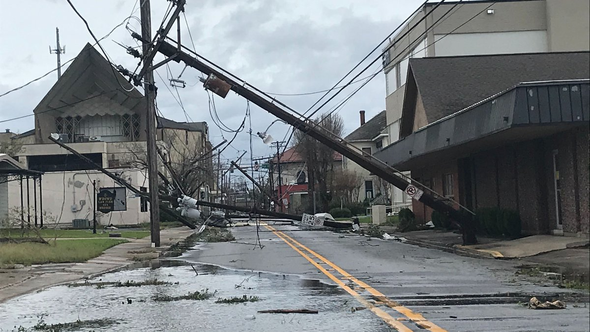 Hodges St. in Lake Charles